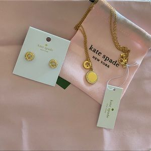 Kate spade jewelry gold